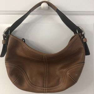 Coach, Tan Leather Shoulder Bag
